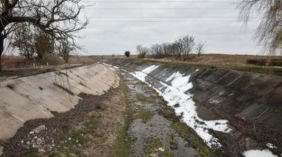 В Крыму планируют оценить экологический ущерб от украинской блокады