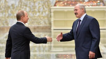 Путин и Лукашенко обсудили предоставление Белоруссии второго транша кредита