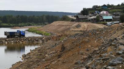 МЧС ожидает повышения уровня воды в реке Тулуна до критического 31 мая