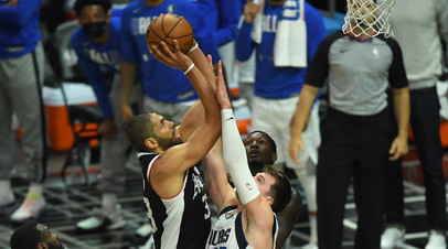 «Даллас» победил «Клипперс» благодаря 42 очкам Дончича и повёл в серии плей-офф НБА