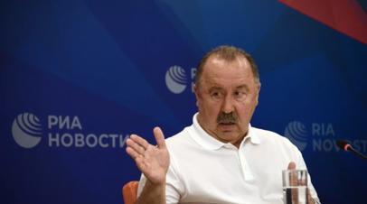 Газзаев: по итогам матчей с Польшей и Болгарией определится стартовый состав сборной на Евро