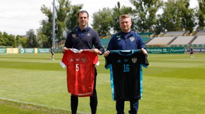 Сборная России по футболу сыграет с Болгарией в красной форме