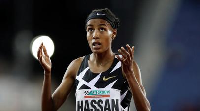 Нидерландка Хассан установила новый мировой рекорд в беге на 10 000 м