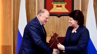 Парламентарии Калининградской и Тверской областей договорились о сотрудничестве