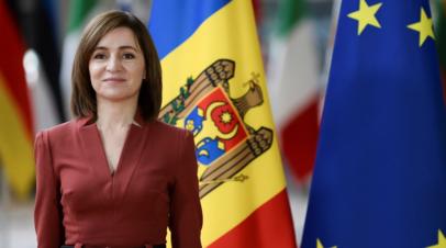 Президент Молдавии Санду поздравила Путина с Днём России