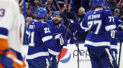 Три передачи Кучерова помогли «Тампе» победить «Айлендерс» и сравнять счёт в серии плей-офф НХЛ