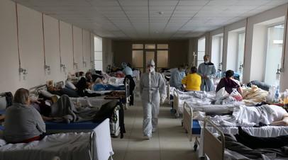 За сутки на Украине зафиксировали 1188 новых случаев коронавируса