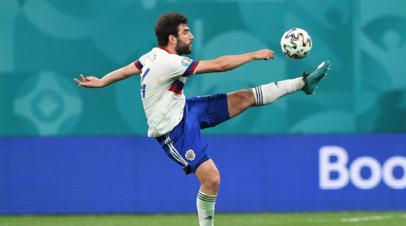 Колосков считает Джикию лучшим футболистом сборной России на Евро-2020