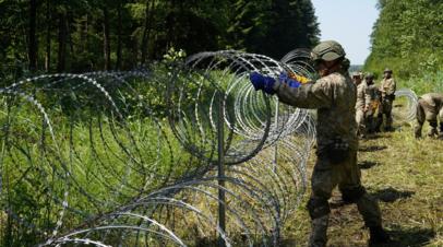 ЕК: поток нелегальных мигрантов в Литву через Белоруссию вырос в 22 раза