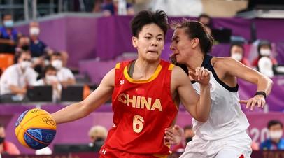 Россия победила Китай и вышла в финал женского турнира по баскетболу 3×3 на ОИ в Токио