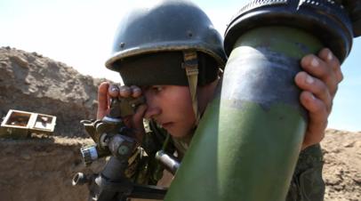Учения артиллерии и ракетных частей прошли в ЦВО