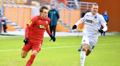 «Краснодар» разгромил «Тамбов» в матче РПЛ