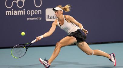 Самсонова разгромила Бертенс и вышла в третий круг турнира WTA в Майами