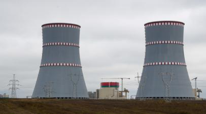 Первый энергоблок БелАЭС возобновил работу после планового отключения