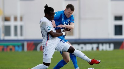 Сборная Франции вышла в плей-офф молодёжного чемпионата Европы по футболу