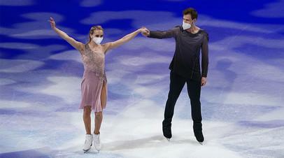 «Всё оставили на льду»: что говорили Синицина и Кацалапов после триумфа на ЧМ в Стокгольме