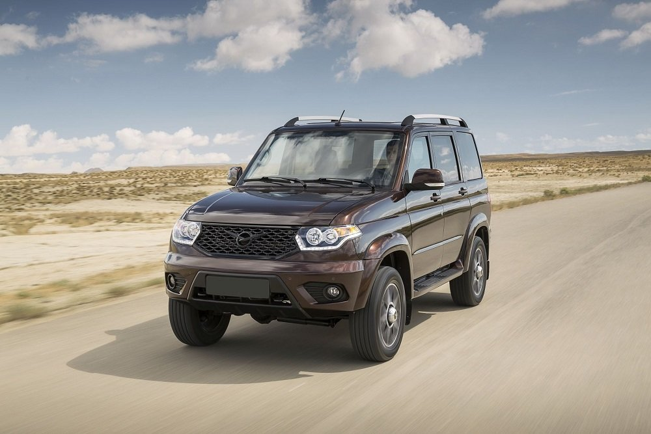 УАЗ 'Патриот' будут продавать в Чили