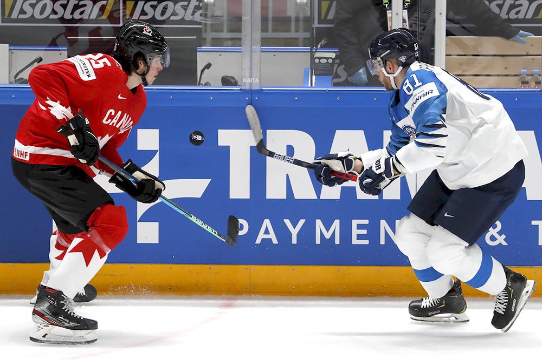 Канада и Финляндия сыграют в финале ЧМ по хоккею