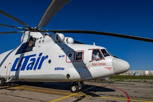 Самый грузоподъемный вертолет в мире получил имя Бориса Слюсаря