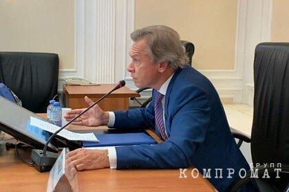 Пушков назвал «ударом по самолюбию» запрет Болтону на въезд в Россию