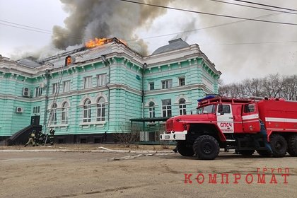 Стала известна возможная причина пожара в российском кардиоцентре