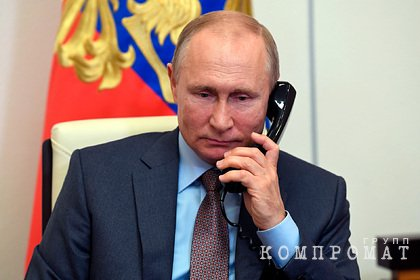 Путин обсудил с Алиевым обстановку в Карабахе