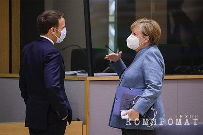 Кремль понадеялся на влияние Меркель и Макрона на Зеленского
