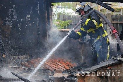 Двое взрослых и ребенок погибли при пожаре в российском регионе