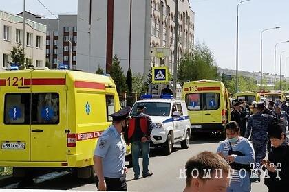 Врач рассказала о состоянии пострадавших при стрельбе в казанской школе детей