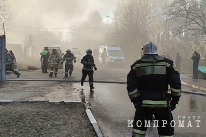 Четыре человека погибли при пожаре в сварочном цехе в Подмосковье