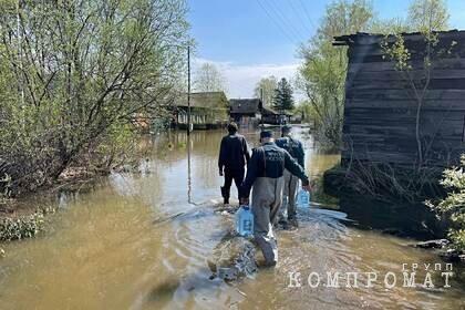 Более 130 человек эвакуировали из-за паводка в Красноярском крае