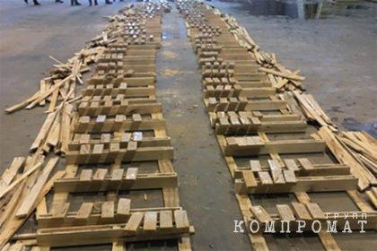 Российские таможенники перехватили около тонны отправленного в Европу героина