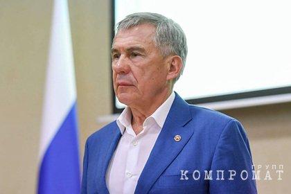 Президент Татарстана выступил с обращением после стрельбы в Казани