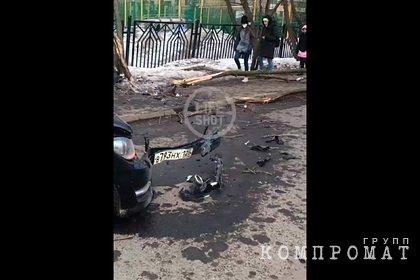 Сбившего насмерть двух женщин в Москве водителя Mercedes задержали