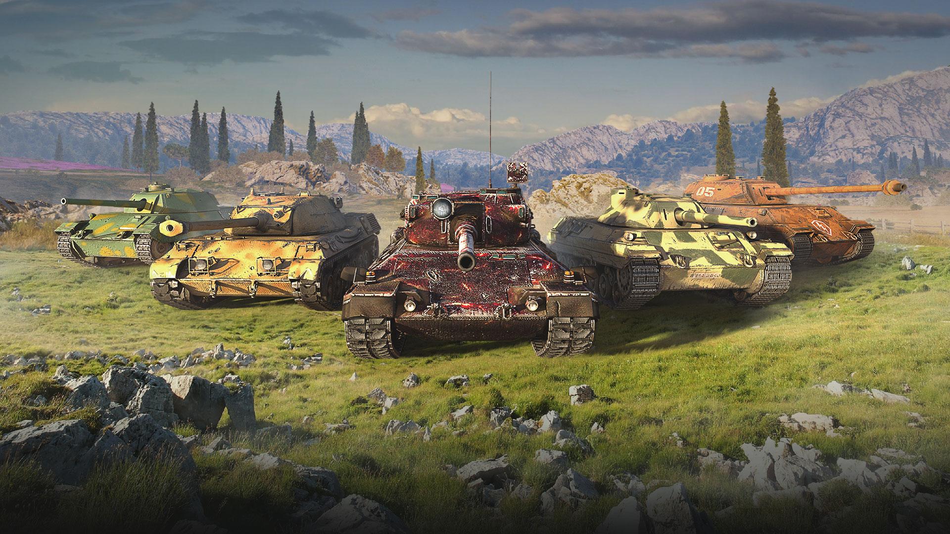World of Tanks официально вышла в Steam