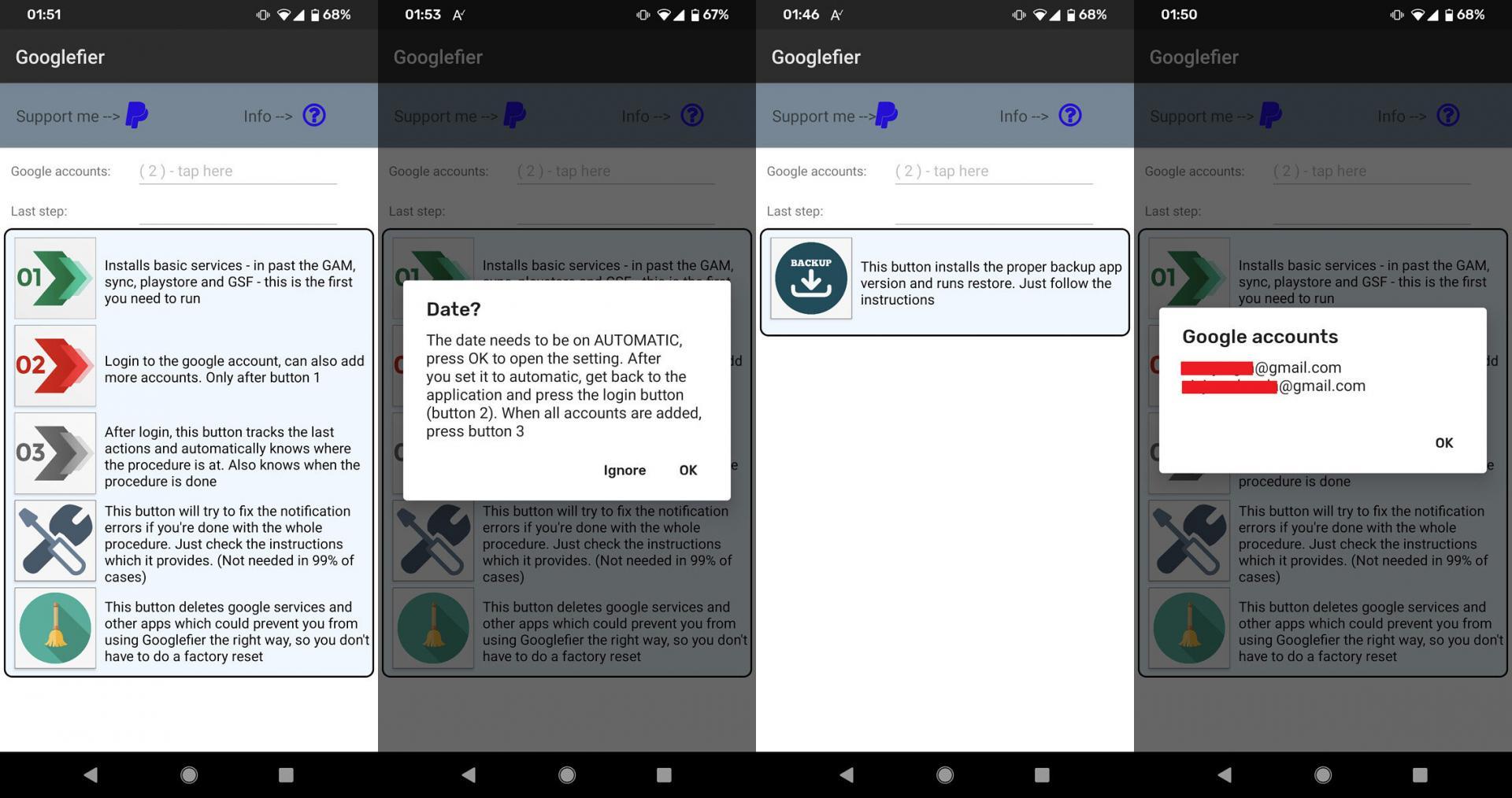 Теперь есть простой автоматизированый способ установки Google-сервисов на HUAWEI и HONOR