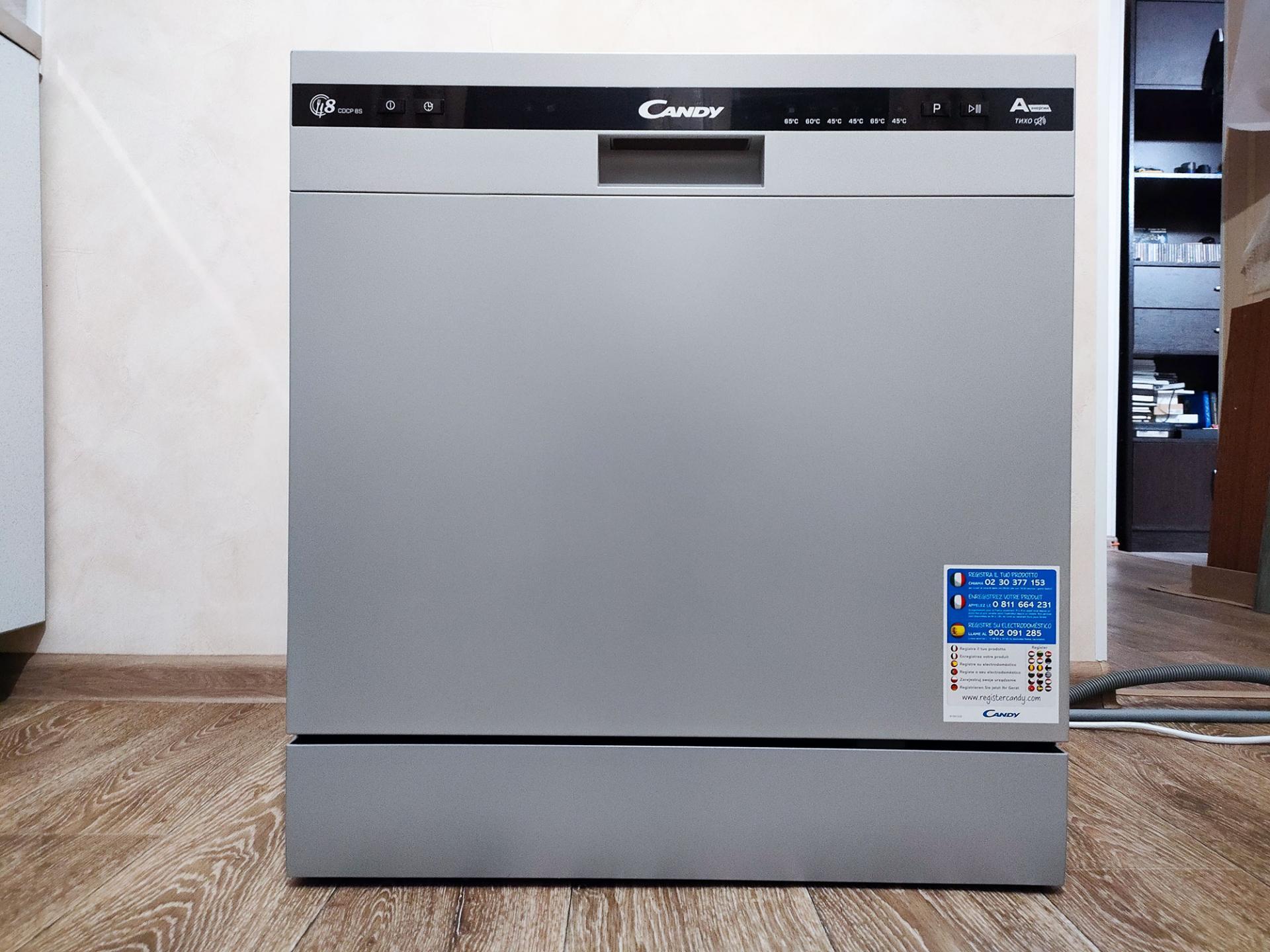 Тест-драйв посудомоечной машины Candy CDCP 8ES-07