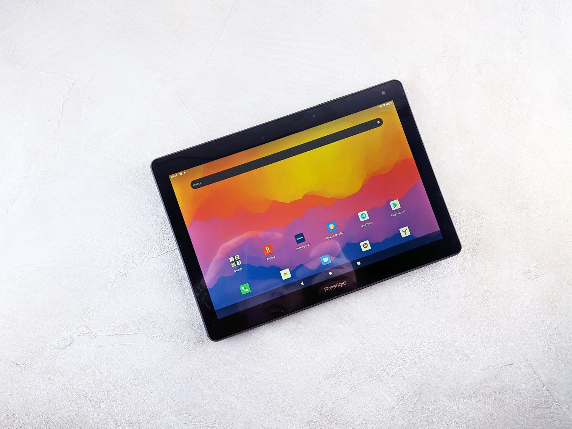 Тест-драйв планшета Prestigio MUZE 3231 4G