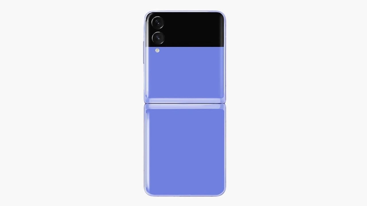 «Раскладушка» Galaxy Z Flip 3 на изображениях: задняя панель, как у Pixel 2, двойная камера и увеличенный внешний дисплей
