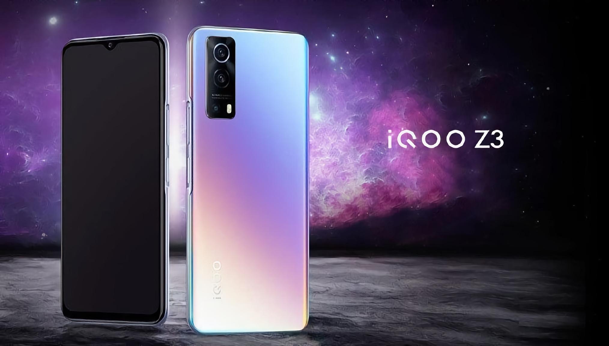 Игровой смартфон за недорого: Vivo показала iQOO Z3 с чипом Snapdragon 765G, экраном на 120 Гц и зарядкой на 55 Вт
