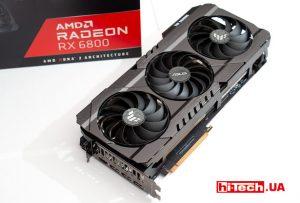 Обзор видеокарты ASUS TUF GAMING Radeon RX 6800. У AMD получилось