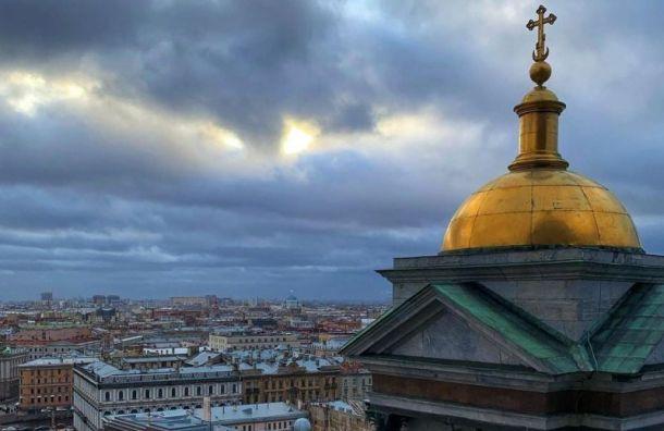 Кратковременный снег пройдет в Петербурге 4 марта