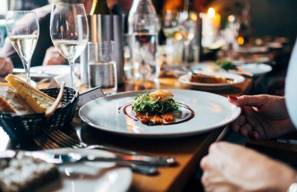 Стоимость блюд в петербургских ресторанах может вырасти на 20%