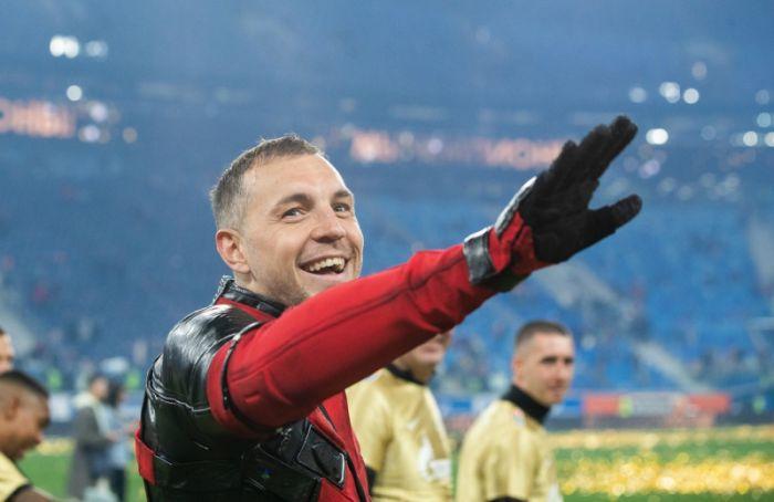 Болельщики 'Зенита' признали Дзюбу лучшим игроком сезона