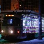 Снег вывел из строя пять трамваев в Пятигорске