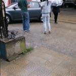 Неправильно припаркованный автомобиль заблокировал движение трамваев в Пятигорске