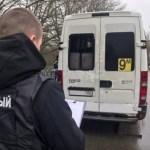 Девушка пострадала в результате вылета маршрутки в кювет в Ставрополе