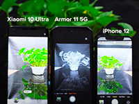 Сравнение камер Apple iPhone 12, Xiaomi Mi 10 Ultra и Ulefone Armor 11 5G