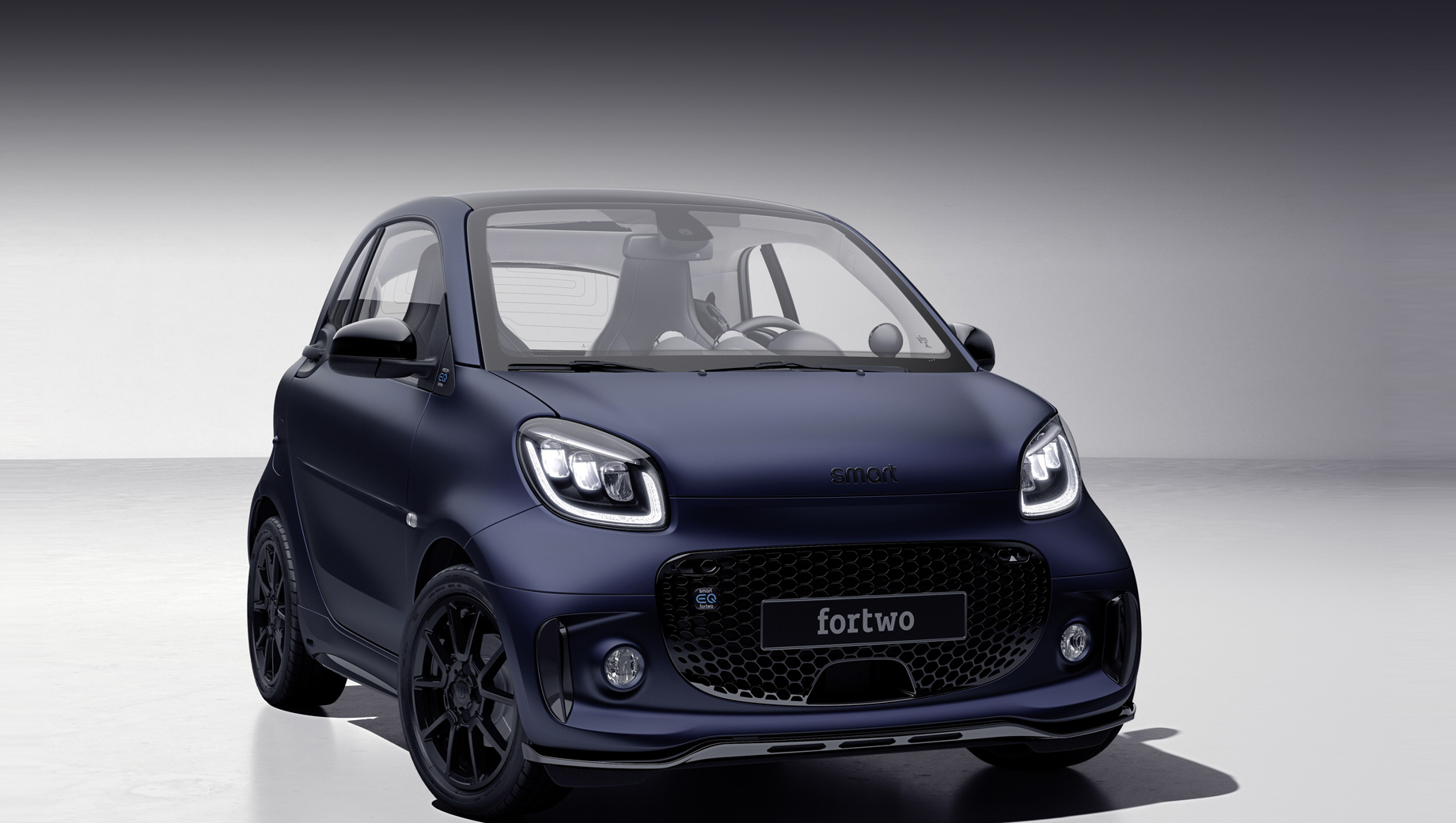 Brabus украсил малыша Smart EQ Fortwo edition bluedawn