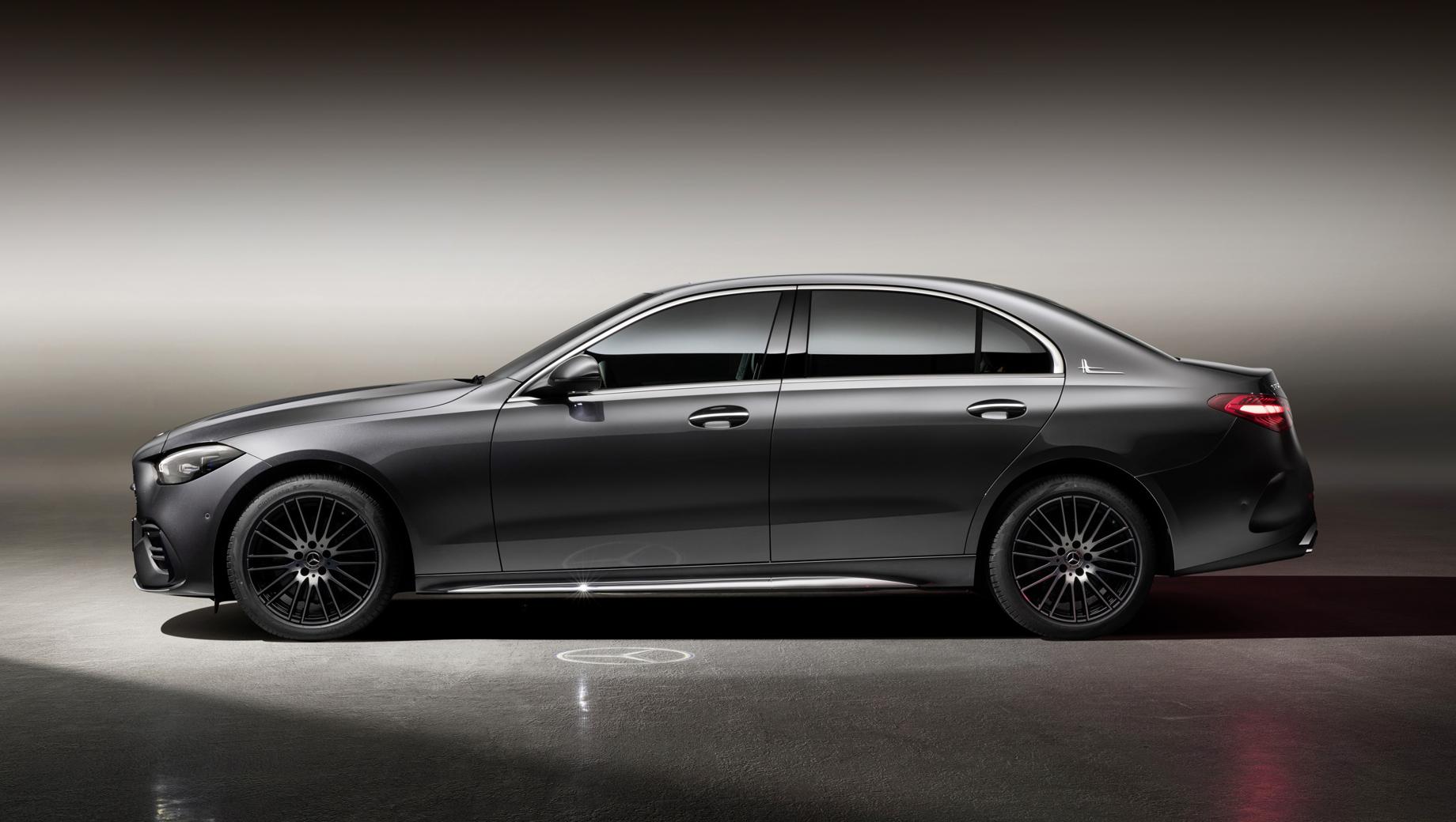 Mercedes-Benz C-класса L обошёл Е-класс по колёсной базе